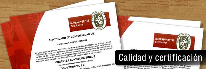 Calidad y certificación